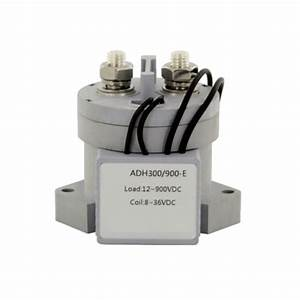 300a High Voltage Dc Contactor  12v  24v Coil