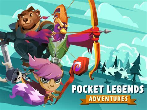 pocket legends adventures spacetime studios announces