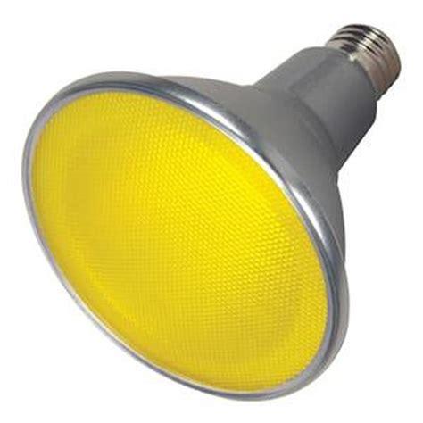satco 09484 15par38 led 40 yellow 120v s9484 par38