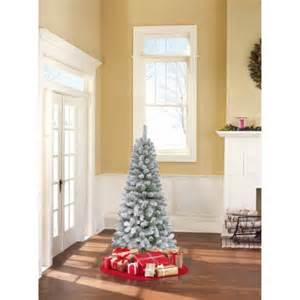 artificial christmas tree unlit 6 greenwood pine walmart com