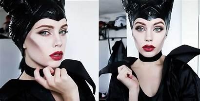 Makeup Halloween Maleficent Tutorial Tutorials Looks Disney