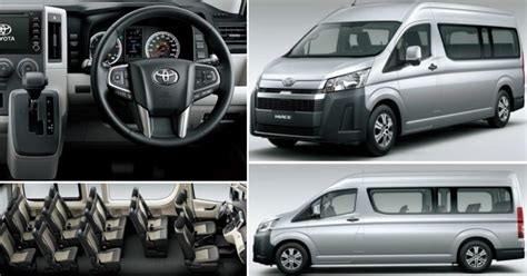 toyota hiace premium mpv officially unveiled