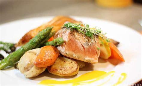 cuisine pour diabetique duo saumon jacques et feuilleté asperges