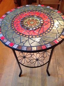 Mosaik Selber Fliesen Auf Altem Tisch : mosaik tisch beistelltisch garten bistrotisch beistelltisch garten bistrotisch und ~ Watch28wear.com Haus und Dekorationen