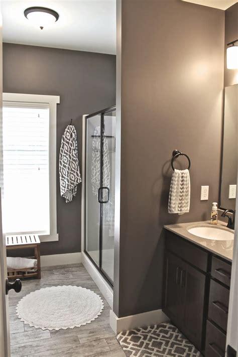 master bath wall art grey paint  homes bathroom colors house design