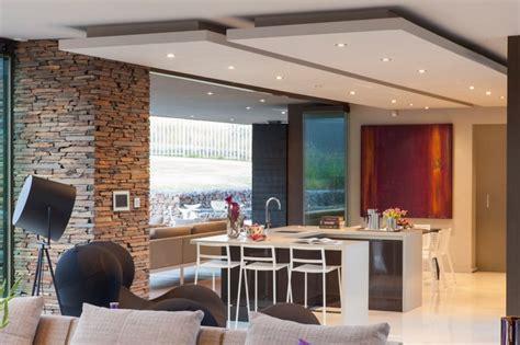 ilot cuisine villa contemporaine cuisine ilot