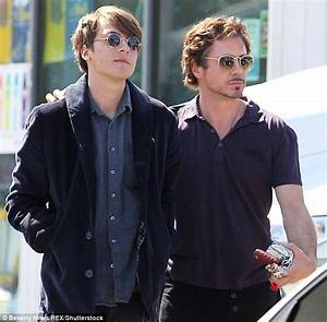 Robert Downey Jr pays tribute to son Indio days after drug ...