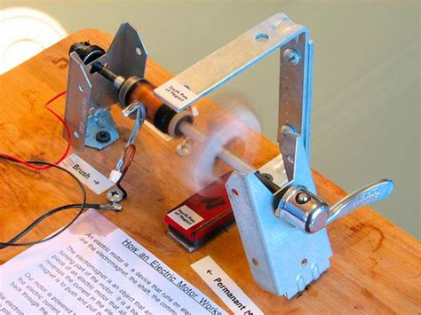 Electric Motor Experiment by Building An Electric Motor Evil Mad Scientist Laboratories