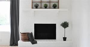 Peindre Des Briques De Cheminée : relooker une cheminee en pierre ~ Farleysfitness.com Idées de Décoration