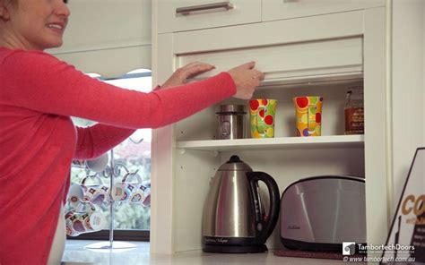 Appliance Cupboards by Kitchen Appliance Cupboard Doors That Roll Up Tambortech