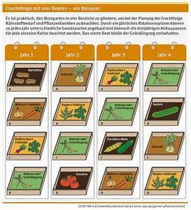 Garten Planen Online : fruchtfolge mit vier beeten ein beispiel ecologic ~ Lizthompson.info Haus und Dekorationen