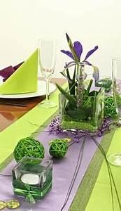 Tisch Selbst Gestalten : tischdeko gr n und lila festliche tischdekoration selbst gestalten die 360 ansicht von ~ Orissabook.com Haus und Dekorationen