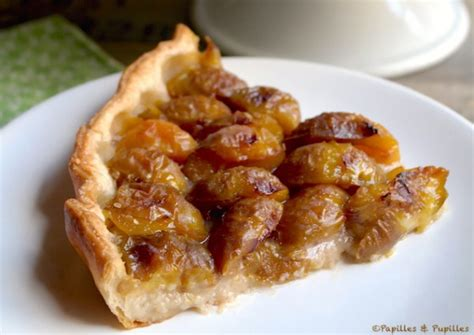 tarte aux prunes pate feuilletee tarte aux prunes reine claude