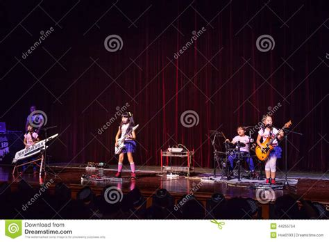 kid rock fan club kids rock band editorial stock image image 44255754