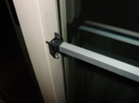 sliding glass patio door security bar 15 best images about glass door on window