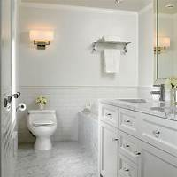 marble tile bathroom Subway Tile Bathrooms for Perfect Bathroom You Dreaming Of - HomeStyleDiary.com