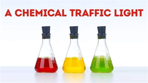 how to make a l how to make a chemical traffic light easily l 5 minute