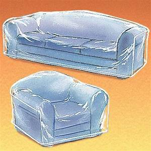 Plastic sofa covers are back for keeping your indoor and for Plastic furniture covers indoor