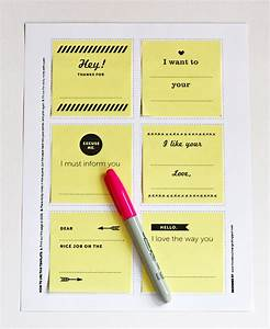 print your own post it notes the well appointed desk With how to print on post it notes