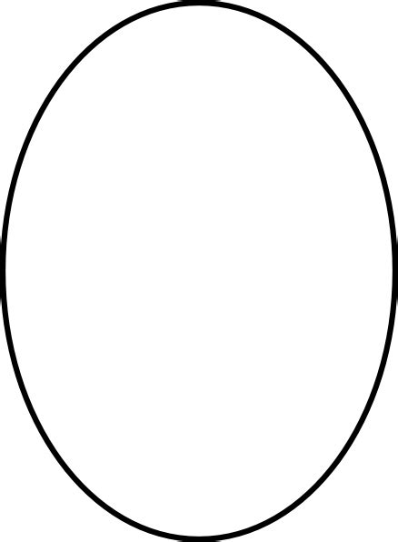 20 top gallery of oval large oval template clipart best