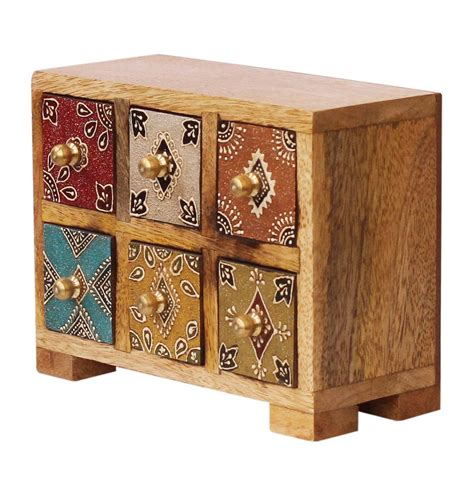 wooden box with drawers source wooden jewelry box with 6 chest drawers in bulk