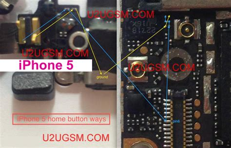 iphone 5 home button not working iphone 5 home button problem solution not working jumpers