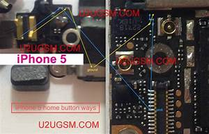 Iphone 5 Home Button Problem Solution Not Working Jumpers
