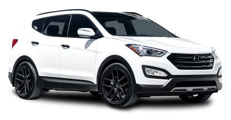 Hyundai H1 Backgrounds by Hyundai Santa Fe White Car Png Image Purepng Free