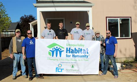 FCR Announces Sponsorship of Habitat For Humanity