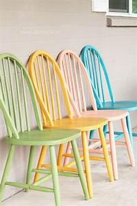 Relooker Des Chaises : d co 10 id es diy pour relooker chaises et tabourets d coration int rieure mobilier de ~ Melissatoandfro.com Idées de Décoration