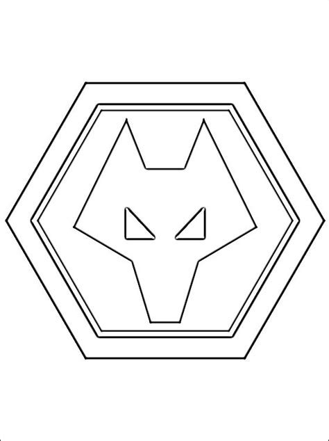 logo  wolverhampton wanderers fc coloring pages