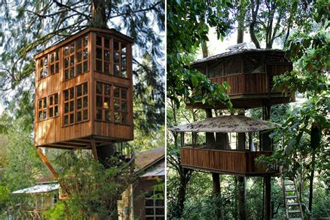 One day i will have a treehouse… (images via architecture art design, treehouse point, sonic walker flickr, knoxnews, the lonesome la cowboy. Tree-rific Treehouses - Honestly WTF