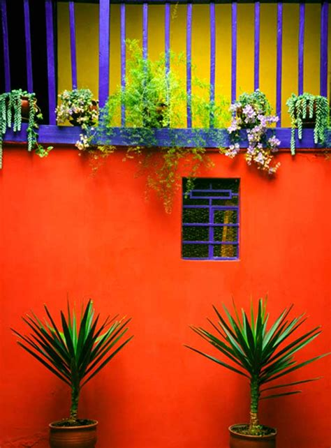 mexican colors the cheerful aesthetic of color blocking from