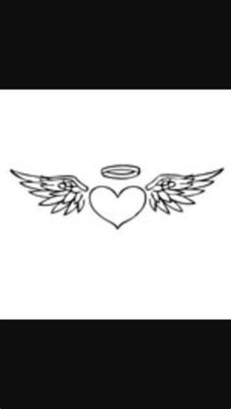 Angel Wings Decal with Halo, angels decals, angels
