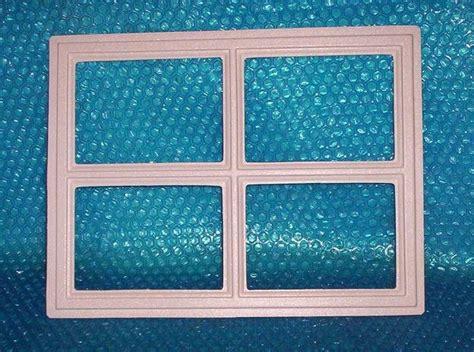 garage door plastic window inserts replacements garage door window insert quot stockton quot 12 1 2 quot x 16 1 2 quot set