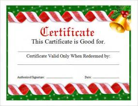 20 christmas gift certificate templates free sle exle format download free