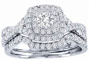 2 carat round cut gia certified diamond luxurious halo for Huge wedding rings for women