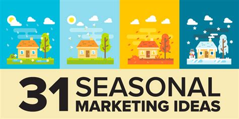 Marketing Ideas by 31 Awesome Seasonal Marketing Ideas For Your Small Business
