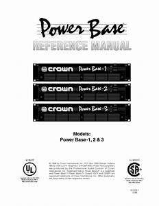 Power Base 1 Manuals