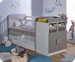 Lit évolutif Bébé : lit b b volutif holly blanc et lin avec matelas b b ~ Melissatoandfro.com Idées de Décoration