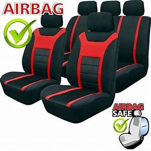 Siege Auto Airbag : akhan sb202 de qualit si ge auto avec airbag lat ral noir rouge ~ Maxctalentgroup.com Avis de Voitures