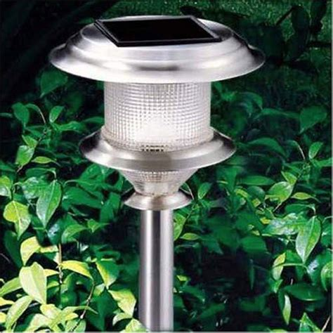 build it green solar powered outdoor path lights
