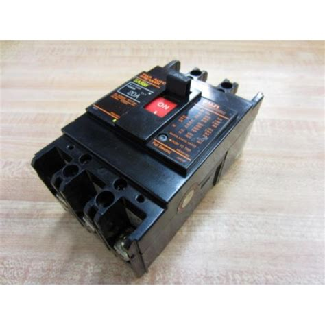 Fuji Electric Sab Auto Breaker Amp Bbasb Used