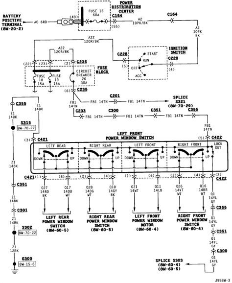 Jeep Power Window Wiring Diagram by I Need A Wiring Diagram For The Driver S Side Power Window