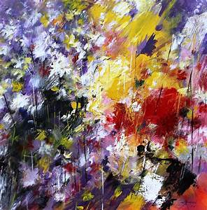 Flowers Paintings Abstract | www.imgkid.com - The Image ...
