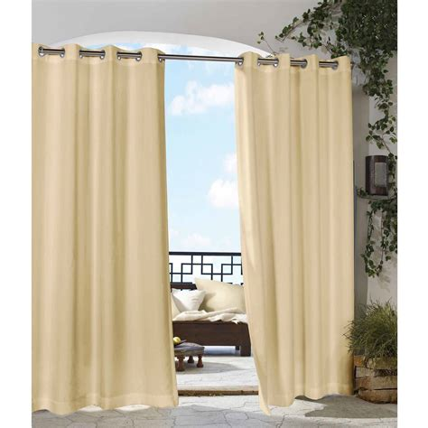Outdoor Patio Curtains Walmart by Escape Indoor Outdoor Tab Panel Walmart