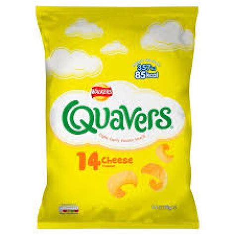 quavers walkers cheese flavour 5g crisps 32x20 services snacks wotsits debriar chips food amazon michael st