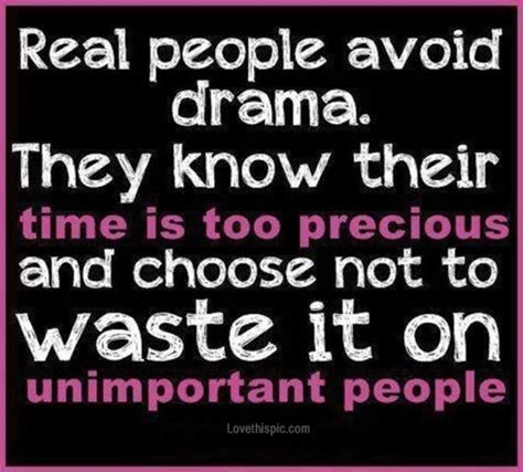 Inspirational Quotes About Avoiding Drama