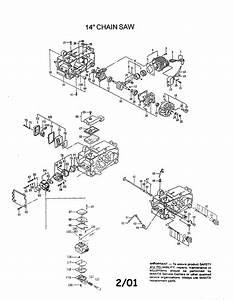Makita Dcs330th Gas Chainsaw Parts