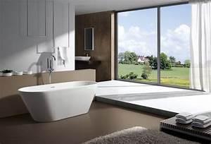 Freistehende Armatur Wanne : freistehende badewanne lugano acryl wei oms 771 170x74 ~ Michelbontemps.com Haus und Dekorationen